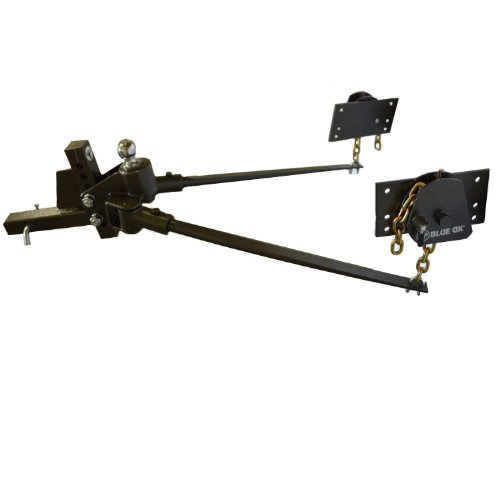 - Blue Ox BXW1501 SwayPro Bolt-On Latch Weight Distributing Hitch - 1500 lbs Capacity