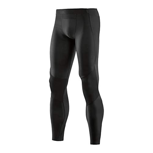 DELRES Men Compression Tights Running Leggings Workout Yoga Pants