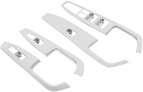 XHNICE 4-TLG. Fensterheber Für Linkslenker, Rahmenverkleidung Passend Für Hyundai Elantra 2018-2019 Autozubehör