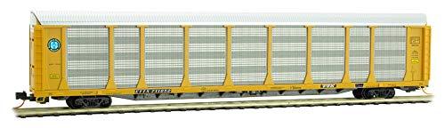 Micro-Trains MTL N-Scale 89ft Tri-Level Auto Rack Car BNSF/ETTX Circle #711052 ()