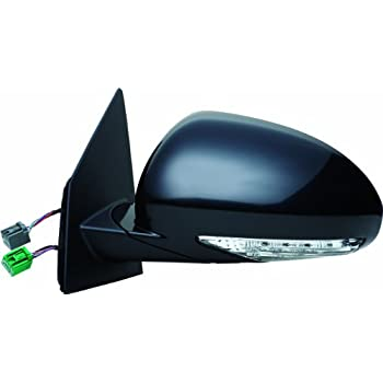 Fit System 70143T Scion xB Passenger Side OE Style Power Replacement Mirror with Turn Signal