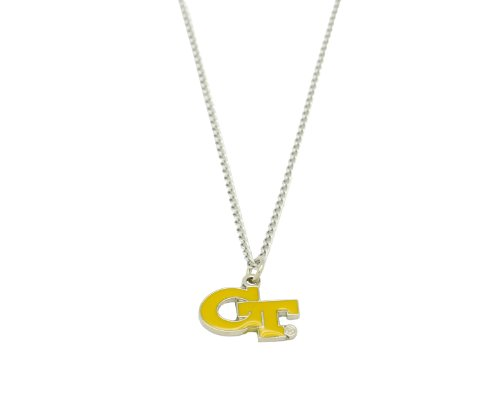 Team Logo Necklace - NCAA Georgia Tech Team Logo Necklace