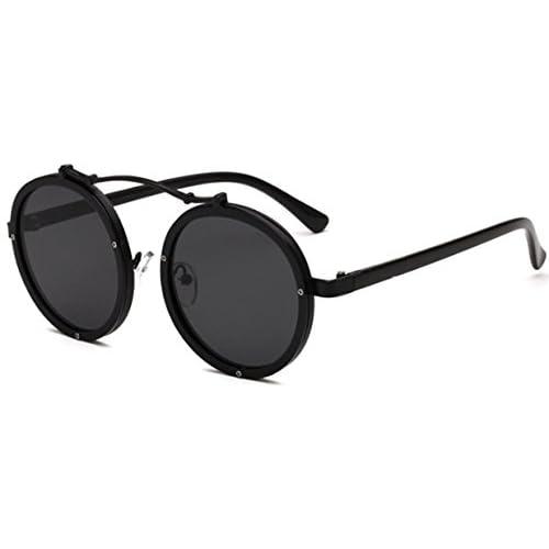 0acaf92f93 50% de descuento J&L GLASSES Retro Gafas Para Hombres Mujeres Lente Negro  Gafas, Gafas