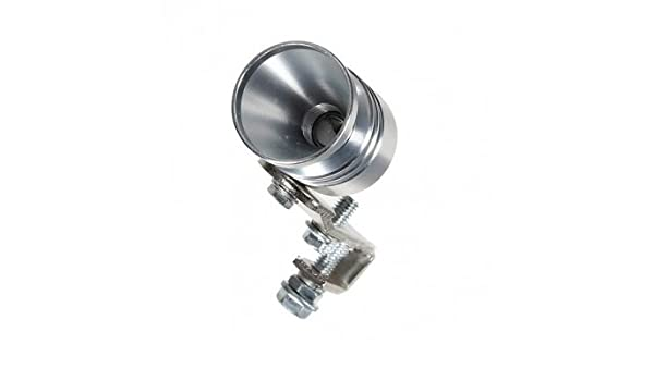 Universal Turbo Muffler Exhaust Sound Whistler BOV Simulator --- Size:S: Amazon.es: Electrónica