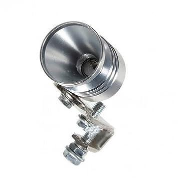 Universal Turbo Muffler Exhaust Sound Whistler BOV Simulator --- Size:L (+£1.23): Amazon.es: Electrónica