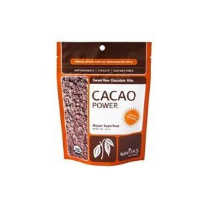 Organic Sweetened Cacao Nibs, 4 oz ( 4-Pack)