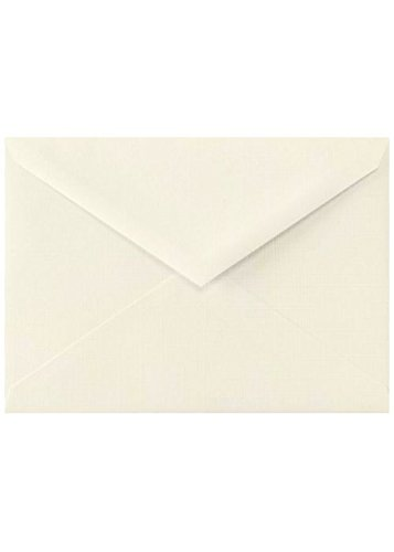Lee BAR Envelopes (5 1/4 x 7 1/4) - Natural Linen (50 Qty) | Perfect for Invitations, Notecards, Announcements and More! | LEEBAR-NLI-50
