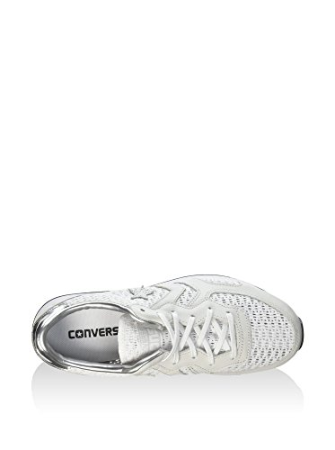 Converse Chaussures Auckland Tiny Ox argent Femme Racer Blanc OPSvOaqx1w