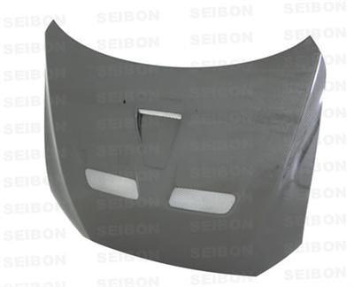 SEIBON 08-09 Lancer EVO X Carbon Fiber Hood OEM Evo 8 Seibon Carbon Fiber