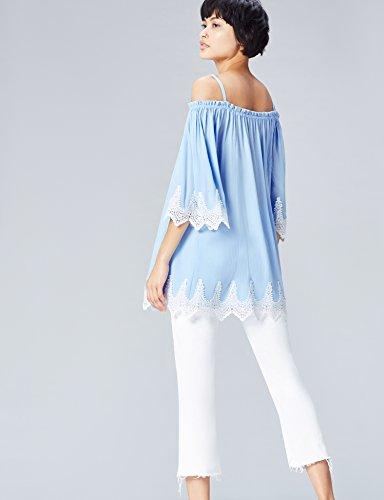 FIND Epaules Femme Blue Bleu Tunique Dnudes qOqwrRxzS