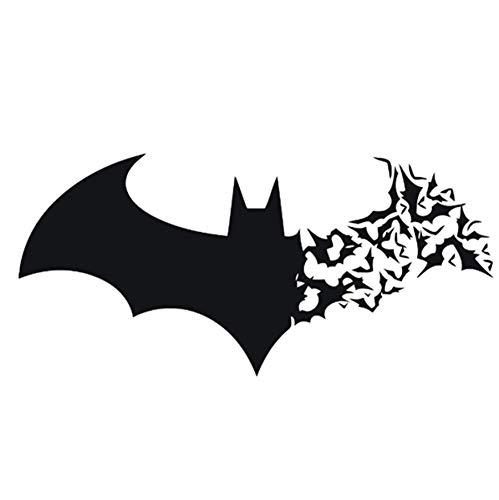 primerry Halloween Horror Bat Carving Wall Sticker Household Waterproof ()