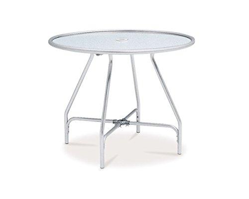 テラモト ガーデンアルミテーブル(組立式) (MZ-610-020-0) B00N3LYENM