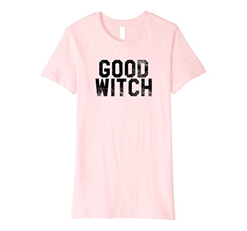 Womens Good Witch - Halloween Costumes T-Shirt - Funny Scary Tee XL Pink