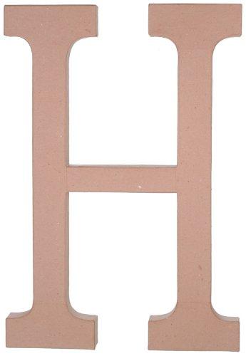 Garden Paper Mache (Paper Mache Letter - H - 23.5 inches)