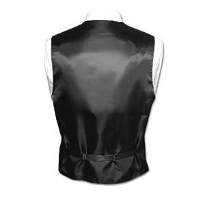 Italian Design, Men's Tuxedo Vest, Tie & Hankie Set in Berry Paisley