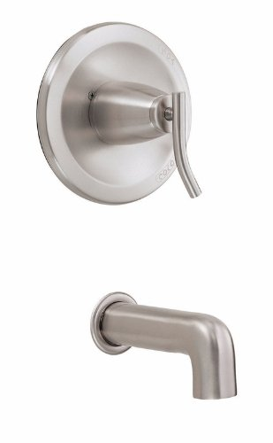 Danze D500654BNT Sonora Tub Trim Kit, Brushed Nickel, Valve Not Included