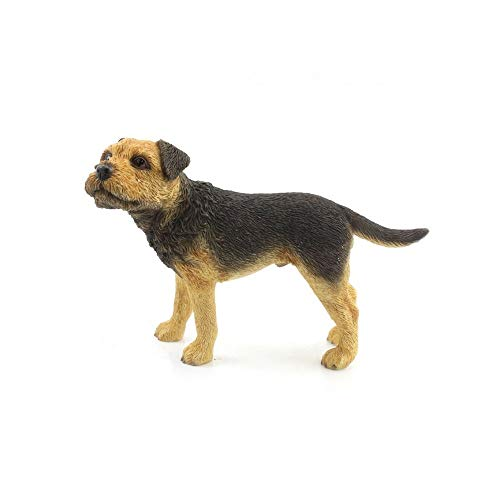 - Leonardo Collection Border Terrier Dog Figurine (One Size) (Brown)