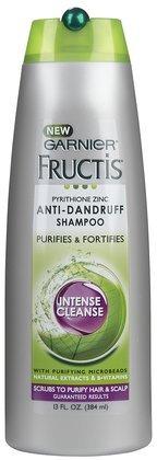 Garnier Fructis Soins capillaires shampooing antipelliculaire, Intense Cleanse 13 fl oz (384 ml)