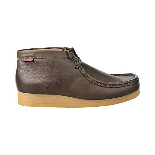 CLARKS Men's Stinson Hi Chukka Boot, Khaki, 9 M US (Clarks Outlet-shop Online)