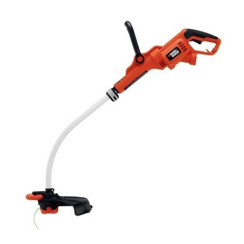 Black & Decker GH3000R 7.5 Amp 14 in. Curved Shaft Electric String Trimmer / Edger (Renewed) (Best Corded Weed Trimmer)