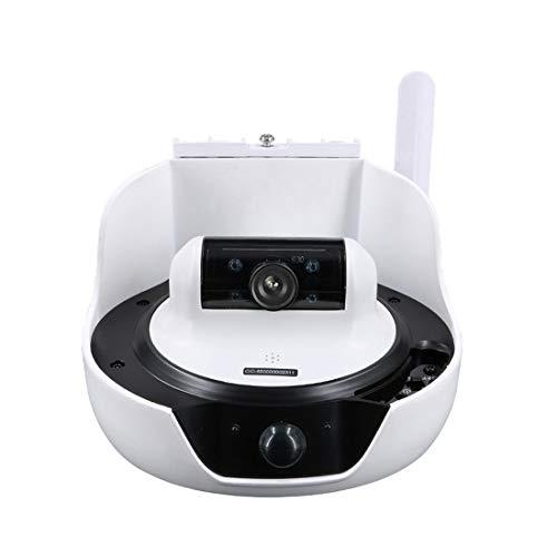 DECJ Solar Control Remoto Cámara Exterior HD Wireless WiFi Vigilancia Cámara Inteligente IP 1.6 G