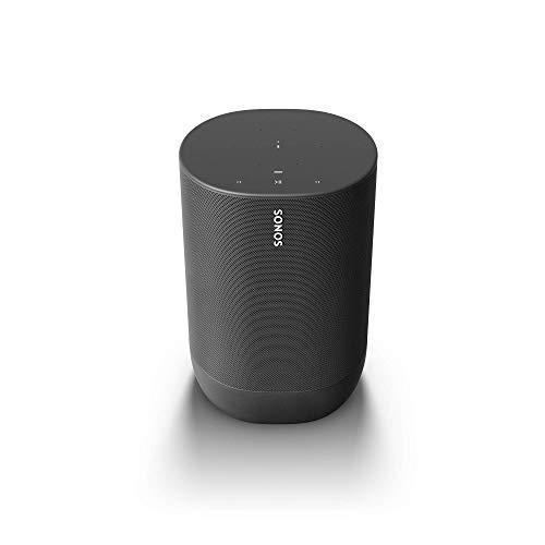 Sonos Move – Altavoz Inteligente con Alexa integrada, portátil y Resistente, con batería integrada, para Escuchar música…