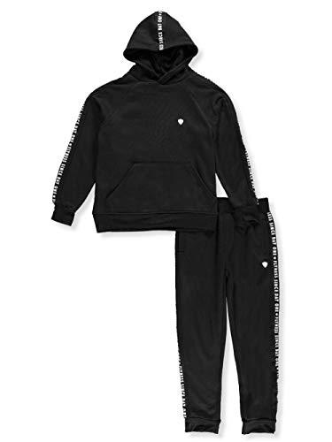 Blac Label Little Boys' 2-Piece Sweatsuit Pants Set - Black, 4
