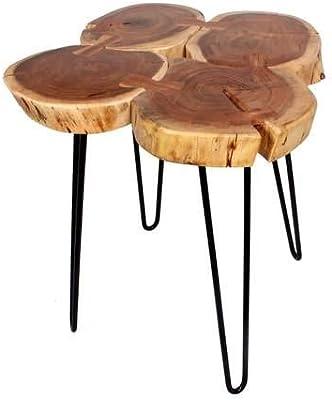 amazon com welland natural edge end table wood side table