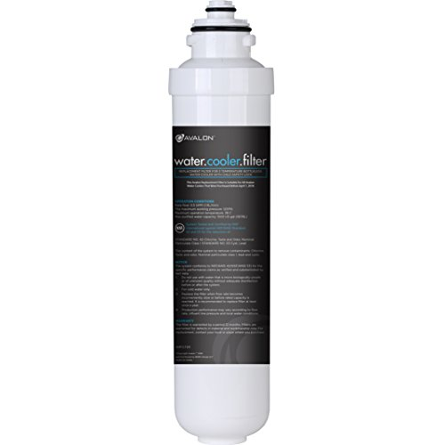 Avalon Single Stage Replacement Filters For Avalon Branded Bottleless Water Coolers **Will ONLY FIT COOLERS PURCHASED BEFORE APRIL 1, 2018**, NSF Certified, 1500 Gallons ()