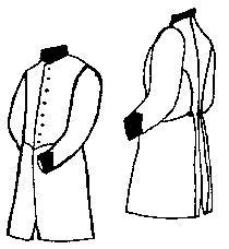 Civil War Colonel Costumes (Military Frock Coat Pattern - Medium (40-44