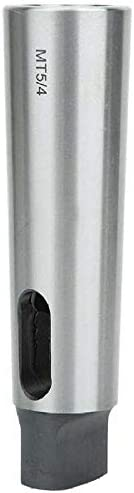 Taper Reducing Adapter Drill Sleeve Silver High Hardness Wear Resistance MT5 to MT4 New