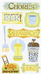 Chores Scrapbook Stickers (SPCLS153)