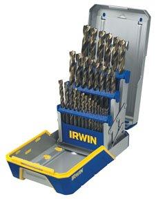 Titanium Nitride Coated HSS Drill Bit Sets - 29 piece drill