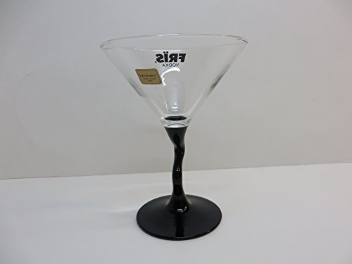Fris Vodka Swivel Stem Martini Glass