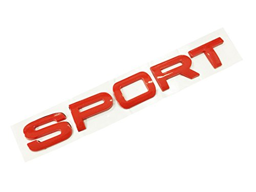 Dian Bin-The Red Sport Letters High Quality ABS Sticker Vehicle-badge Logo Emblem for Land / Range Rover Available