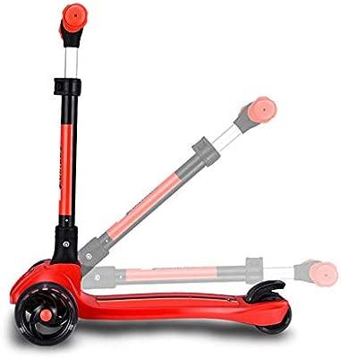 Hejok Scooter Plegable NiñOs 5+, Patinete Scooter para NiñOs 3 ...