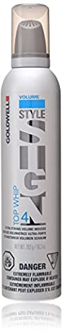Goldwell Style Sign 4 Top Whip Ultra Strong Volume Mousse for Unisex, 10.3 Ounce (Top Products)