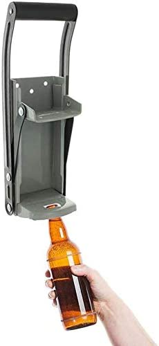 Trituradora de latas Daletu trituradoras de latas montadas en la pared de 12 oz para reciclar trituradora de latas de cerveza herramienta de reciclaje ecol/ógica abridor de botellas de soda