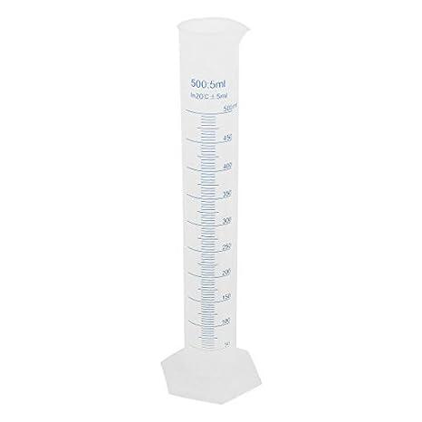 Amazon.com: 36cm Alto 500ml plástico Cilindro graduado Taza de medición DE 5 mililitros: Industrial & Scientific