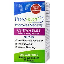 Prevagen Regular Chewables (Mixed Berry) 10mg 30 Count (Chewable Extra Strength)