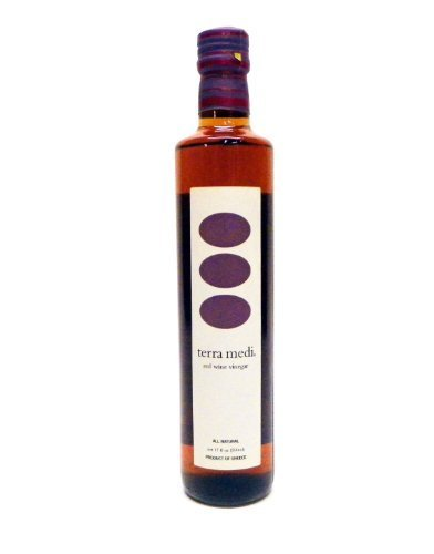 Terra Medi Greek Red Wine Vinegar, 17 Ounce by Terra Medi