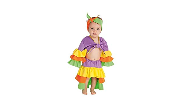 Creaciones Llopis Disfraz de Rumbera Varadero para bebé: Amazon.es ...