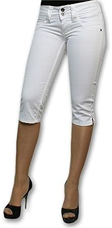 b0665024e79 Pepe Jeans - Pantacourt Venus Crop Blanc (31)  Amazon.fr  Vêtements ...