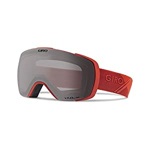 Giro Contact Snow Goggles - Men's Red Sporttech Frame with Vivid Onyx/Vivid Infrared Lens