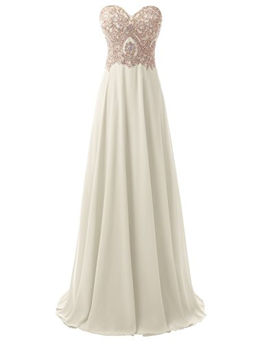 ce Long Evening Dress Sweetheart Prom Formal Gown A line Ivory US22W (Ivory Long Line Lace)