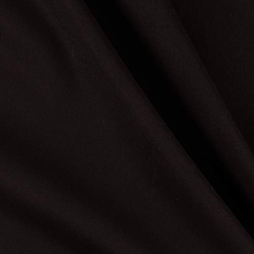 - Clothworks American Made Brand Solid Black Fabric by The Yard,