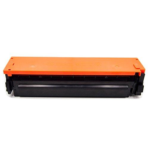 HaloFox 1 Set Toner Cartridges Compatible For 410A Toner CF410A CF411A CF412A CF413A For Color LaserJet Pro M452nw M452dw M452dn MFP M477fdn M477fnw M477fdw Printer (4Pcs, Black Cyan Yellow Magenta) Photo #2