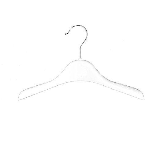 Amazon.com: eDealMax hogar antideslizantes Ropa Faldas Pantalones Pantalones Toalla Perchas ganchos Titular Blanca: Home & Kitchen