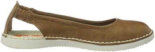 Softinos Ladies Tor384sof Ballerinas Brown (marrone)