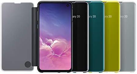 Black Samsung Original Galaxy S10e Protective Clear View Folio Cover Case